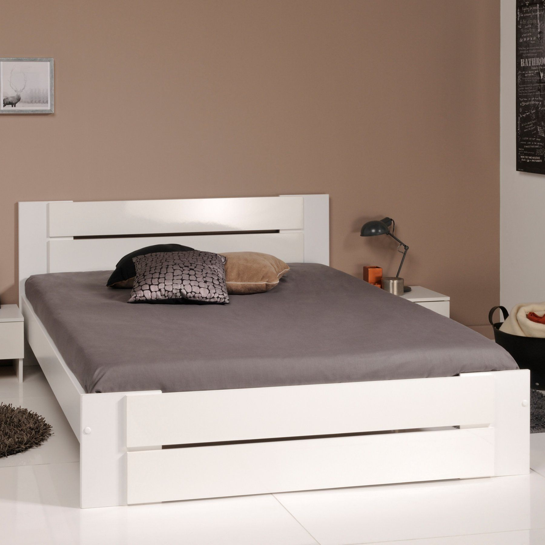 Parisot Bianca Low Profile Full Bed 3071L140 Bed