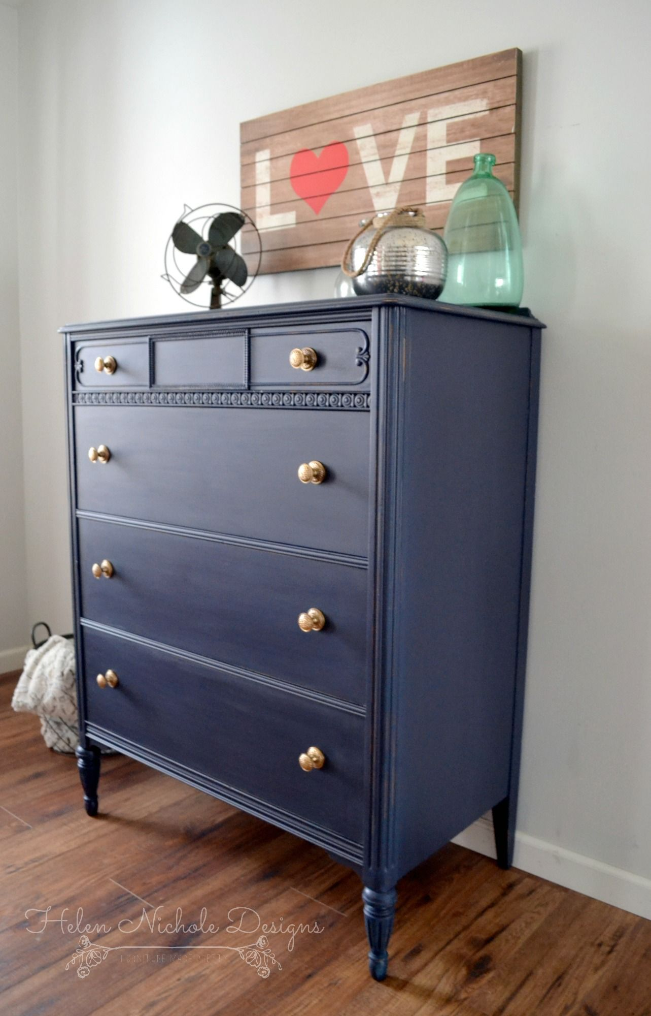 blue wood stained dresser bedroom home stunning sets images photos with decorating navy furniture top including