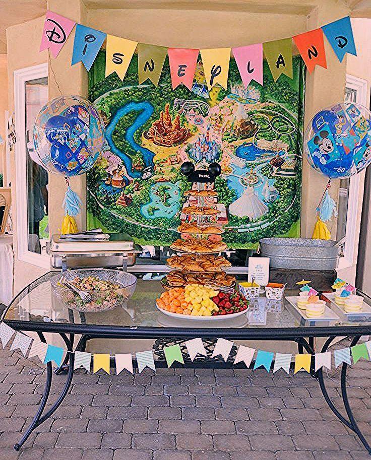 Vintage Disneyland Baby Shower - Smash Cake