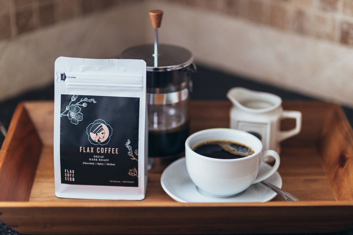 Decaf organic coffee skin rejuvenation roasted coffee