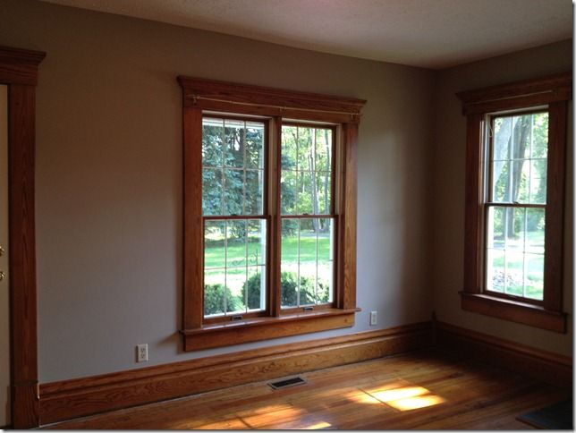 Paint Colors For Dark Trim And Large Rooms New Home The Wood