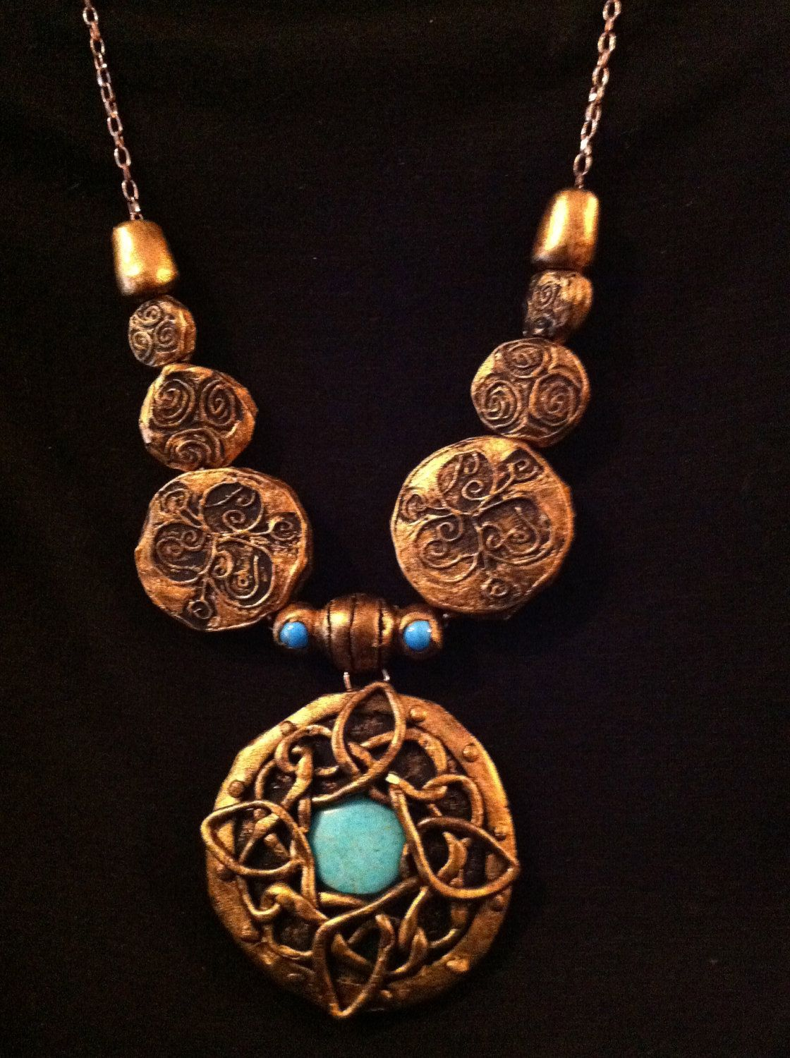 Skyrim Amulet of Mara. $25.00, via Etsy... think if I start wearing this around, people will ask me out more often?