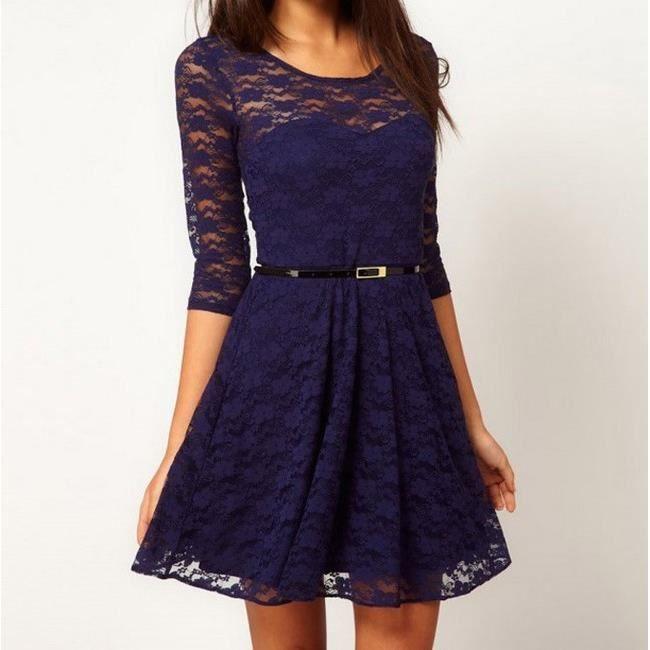 Robe bleu noel