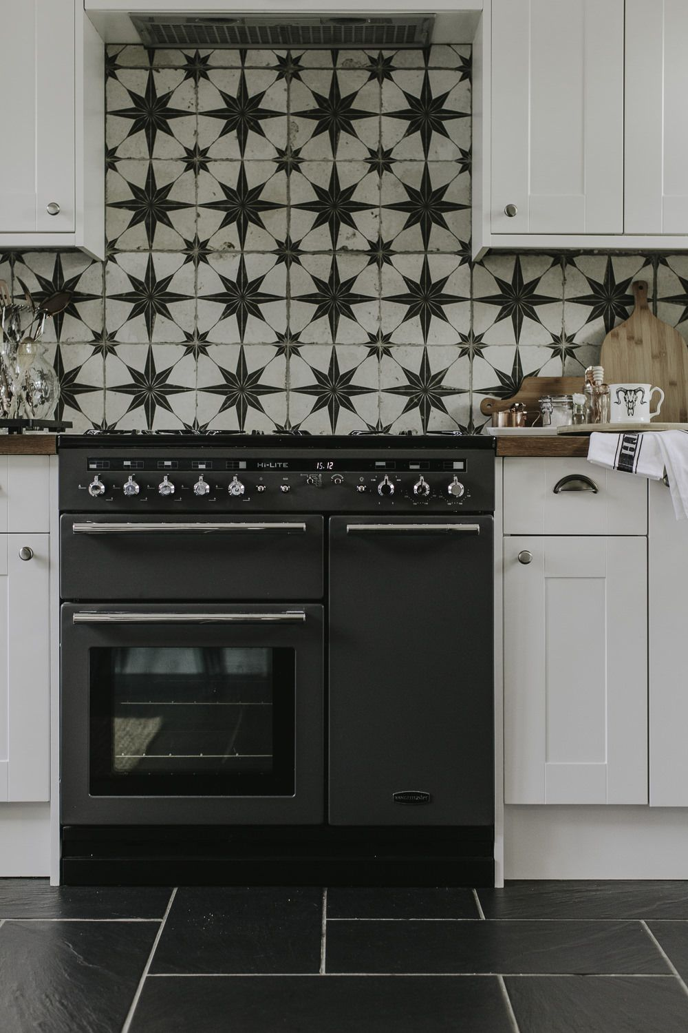 Updating A Large Kitchen On A Small Budget Rock My Style Uk Daily Lifestyle Blog In 2020 Simple Kitchen Kitchen On A Budget Range Cooker