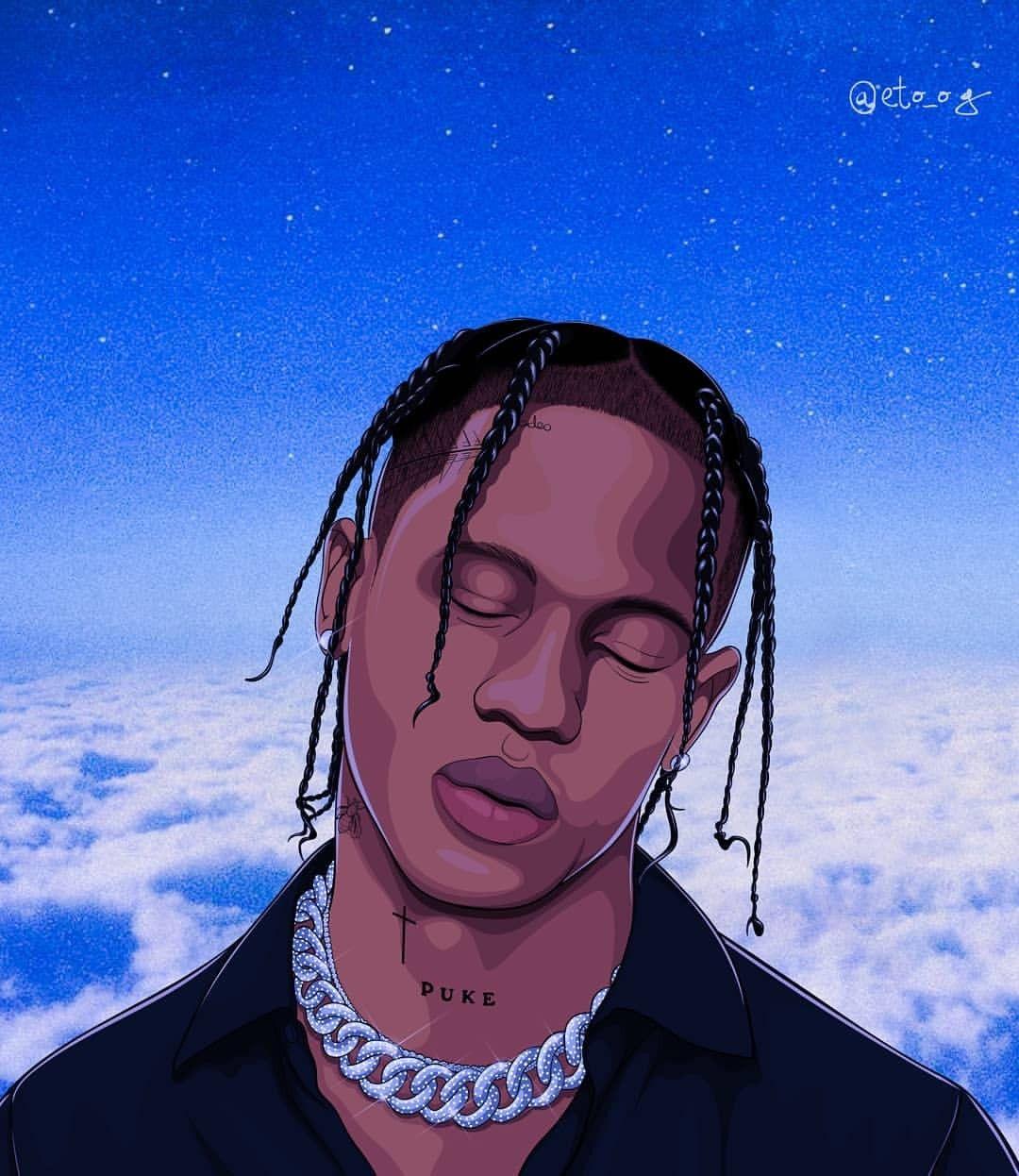 I M Highest In The Room In 2020 Travis Scott Art Hip Hop Art Rapper Art