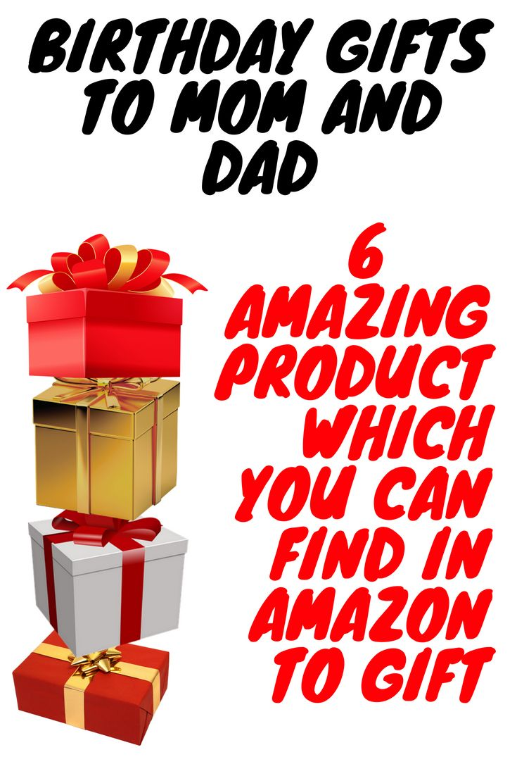 Birthday gifts for mom and dad 6 amazing products wich