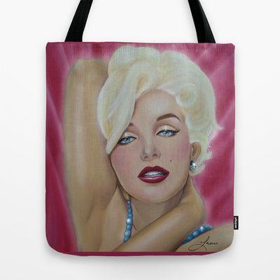 Gorgeous Marilyn Tote Bag by Lauri Loewenberg - $22.00