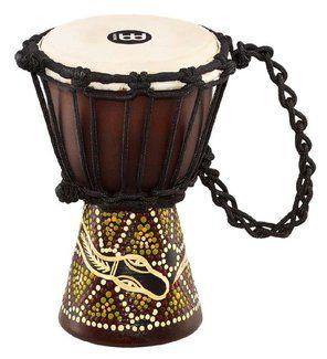 Meinl HDJ6 XXS Mini Djembe dark serpent #percussion #djembe