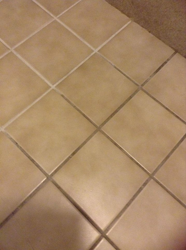 give bar keepers friend a try at cleaning tile grout