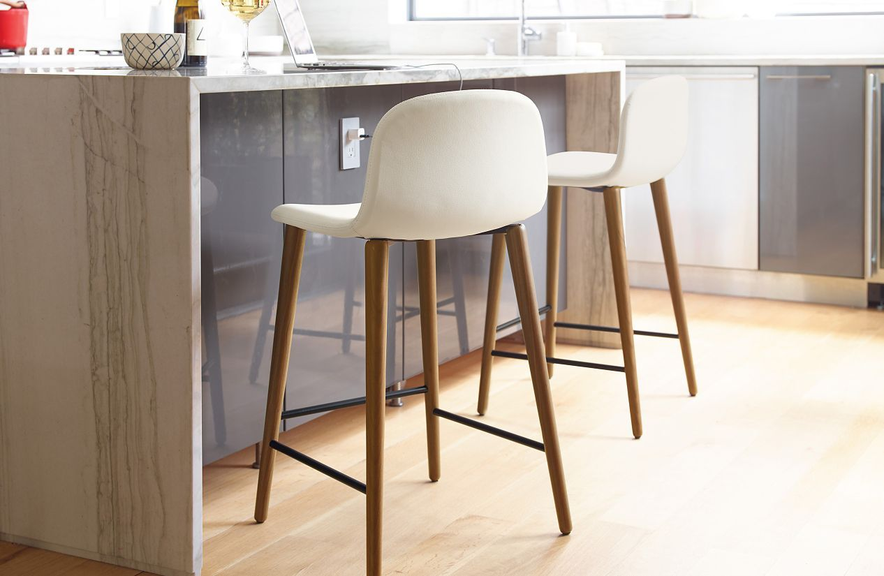 Superb Bacco Stools Dwr Counter Stools Leather Dining Room Onthecornerstone Fun Painted Chair Ideas Images Onthecornerstoneorg