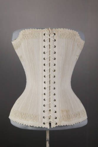 corset 1887 the chicago history museum corset