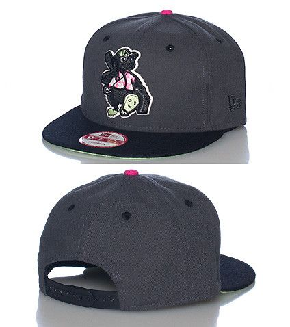 NEW ERA Minor league baseball snapback cap Adjustable strap on back of hat  for comfort Embroidered Tourists team logo on front Jimmy Jazz Exclusive 8be13d79aa1