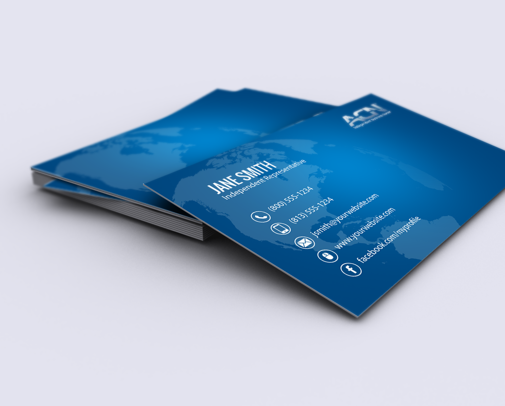 Acn Business Owners Let S Update Your Branding Mlm Acn Print Paper Graphicdesign Businesscard Free Business Cards Printing Business Cards Contact Card