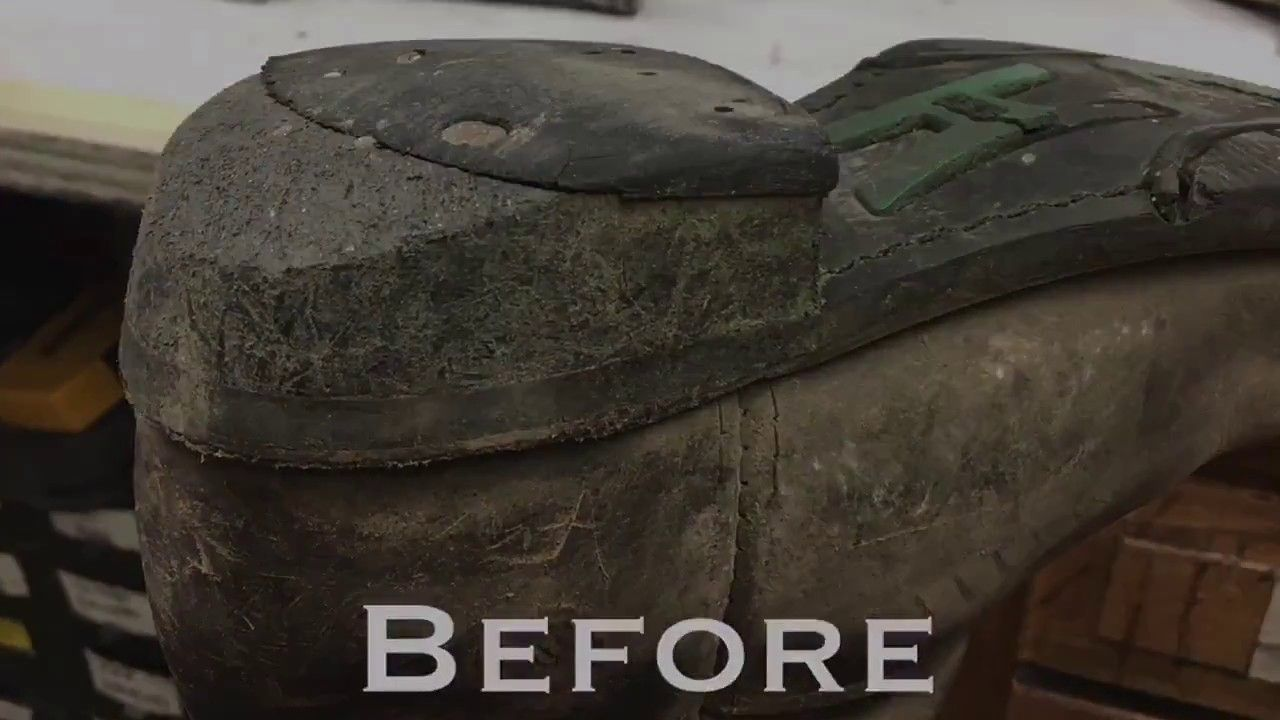 Learn how to fix a broken sole as well as a shoemaker would