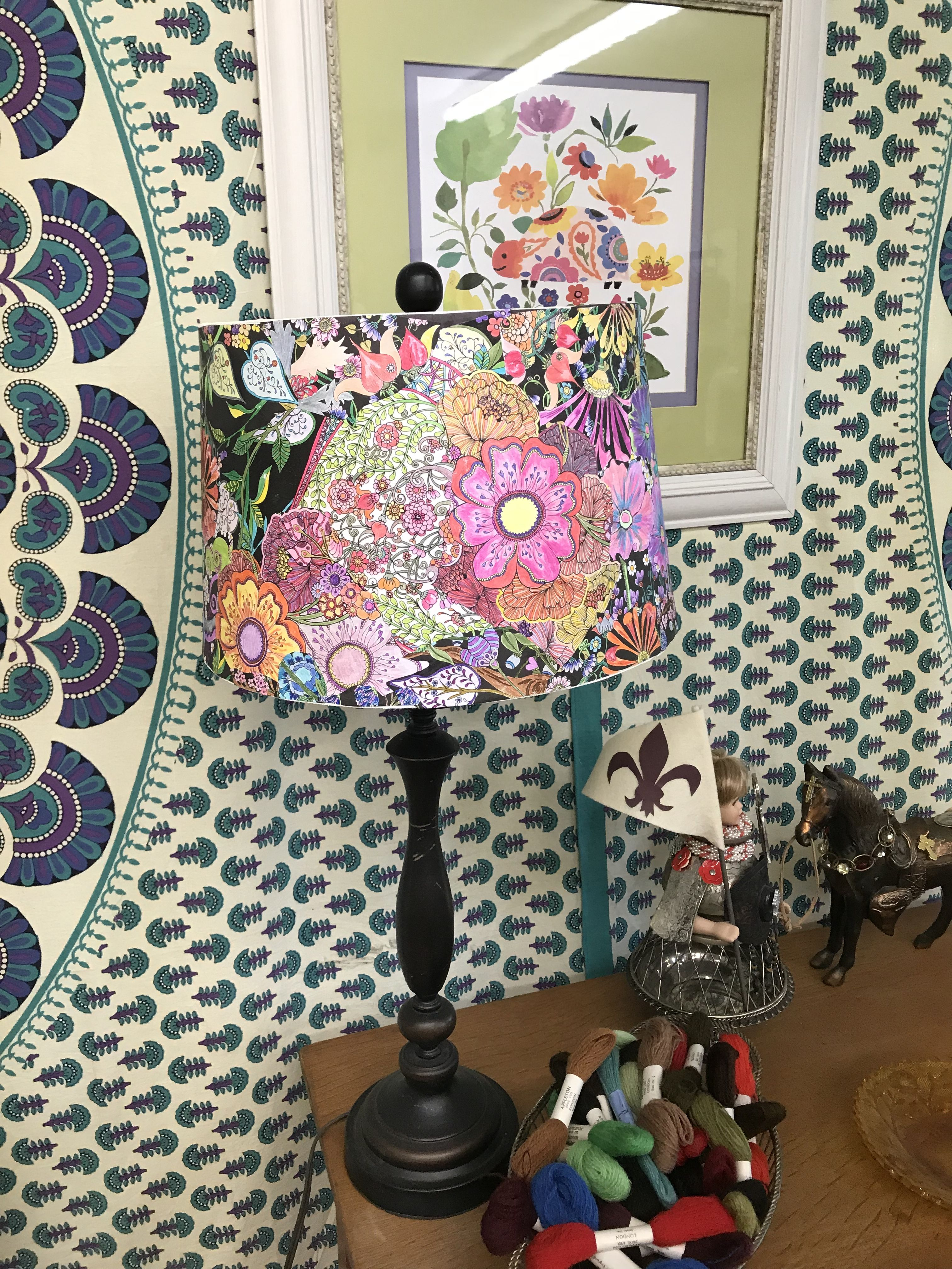 Coloring Book Lamp Shade Coloring Books Book Lamp Coloring Book Pages