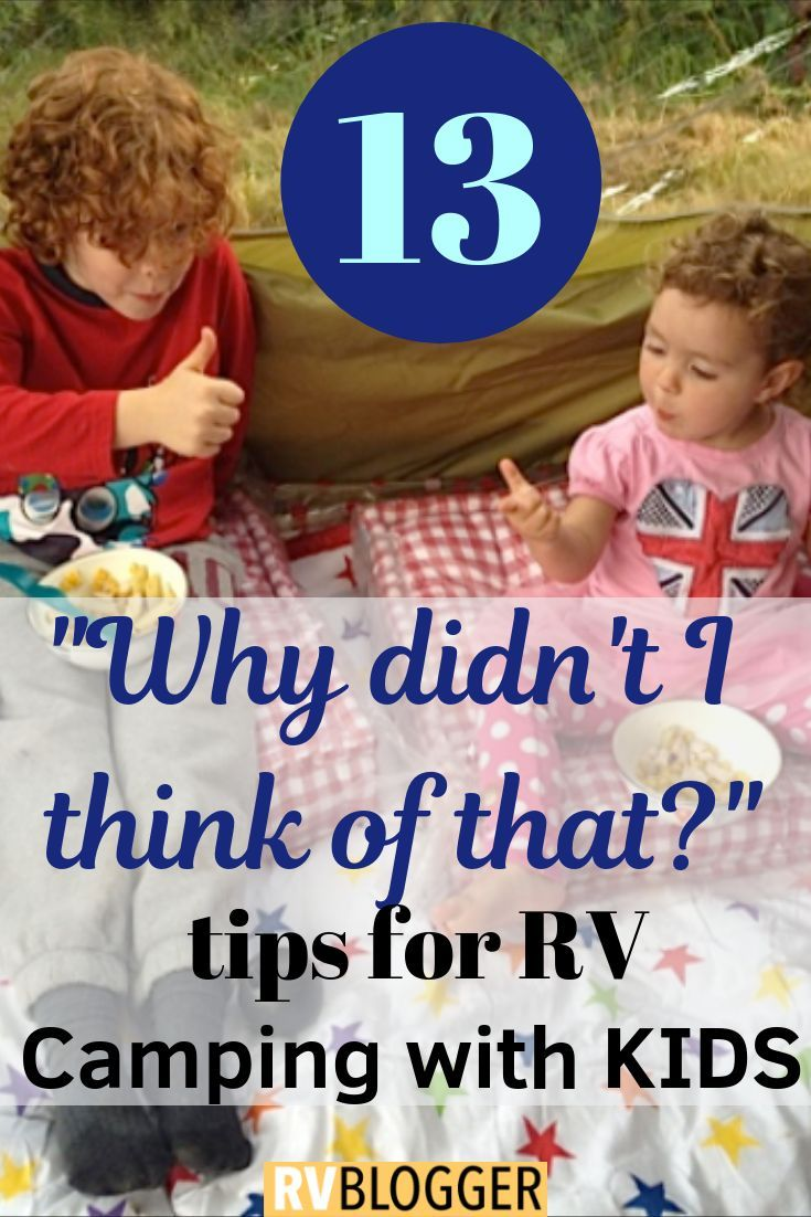 Photo of 13 Awesome Tips for RV Camping with Kids – RVBlogger