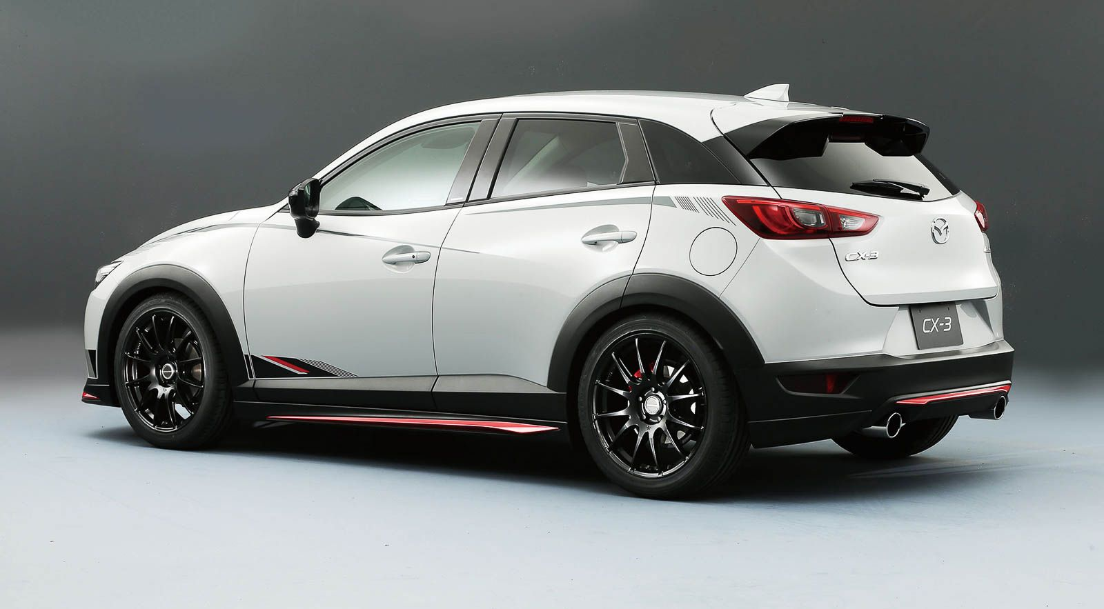 image for white mazda cx 3 tuning stuff mazda mazda. Black Bedroom Furniture Sets. Home Design Ideas