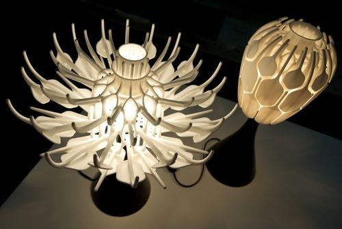 3d Printing Is Cool One Shot Mgx 3d Printed Lampshade The Flower Lamp Lamp Prints
