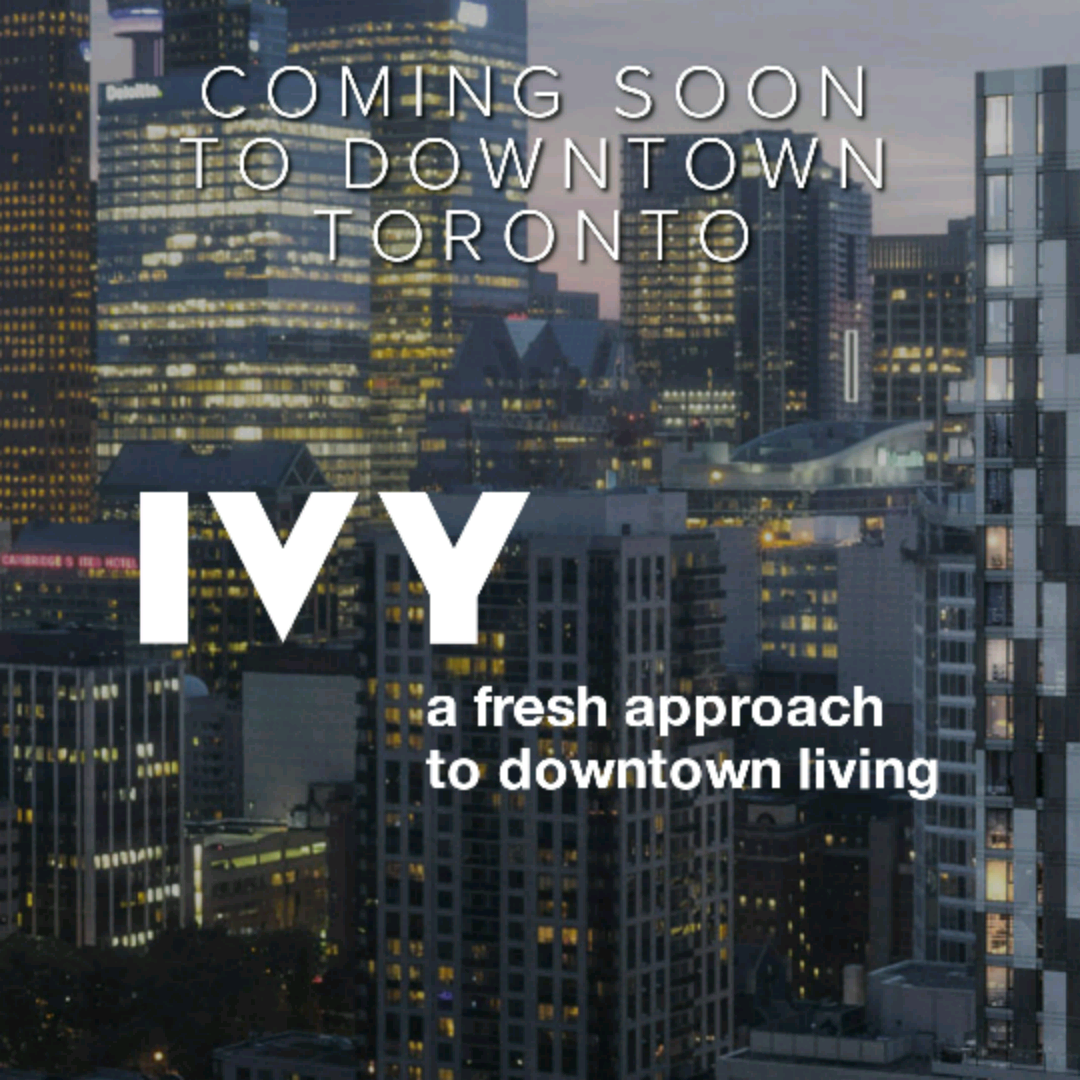 """The #Art of Living in #Toronto on #ArtThursday @IVYcondos = """"a fresh approach to downtown living"""" RSVP here http://tinyurl.com/IVYcondos"""