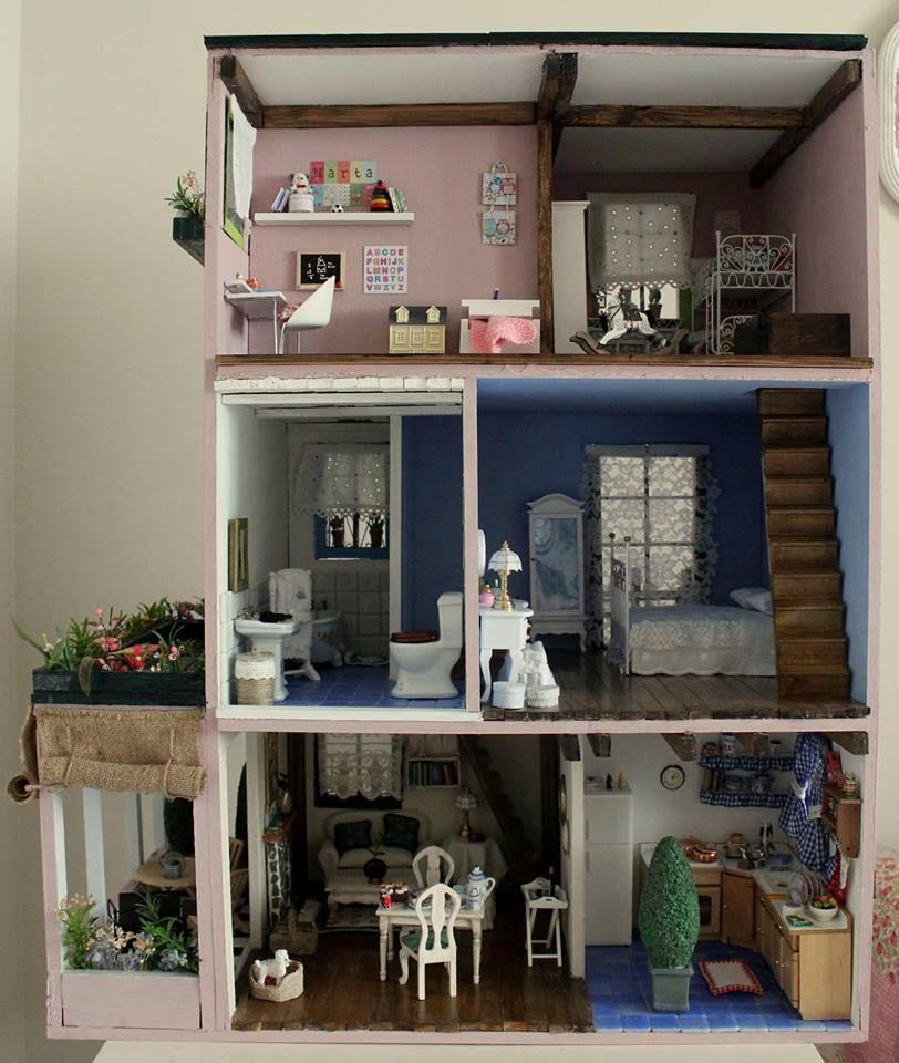 Villa Marta Dolls House Interior. See Pic1 For