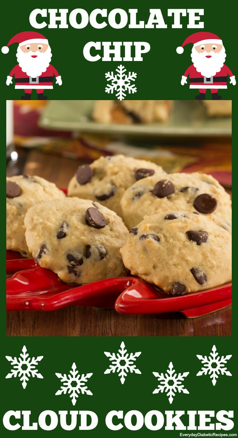 Chocolate chip cloud cookies recipe cookie recipes low carb and food forumfinder Image collections