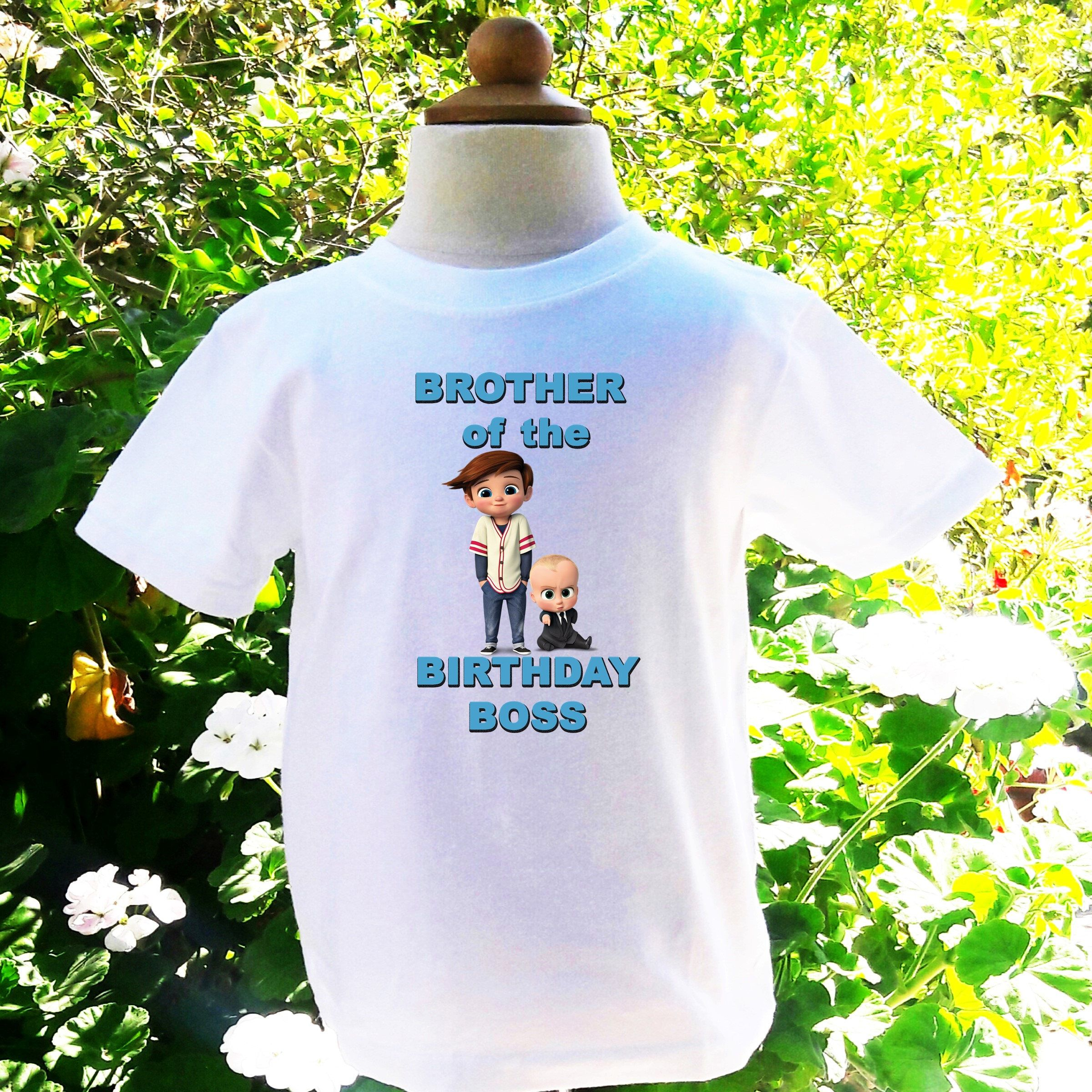 484735e20 Boss Baby Brother of the Birthday Boy Boss Baby Custom Shirt Boss Baby  Birthday Shirt Boss Baby Brother Custom Birthday Shirt-BB004 by  BellasTutusShop on ...
