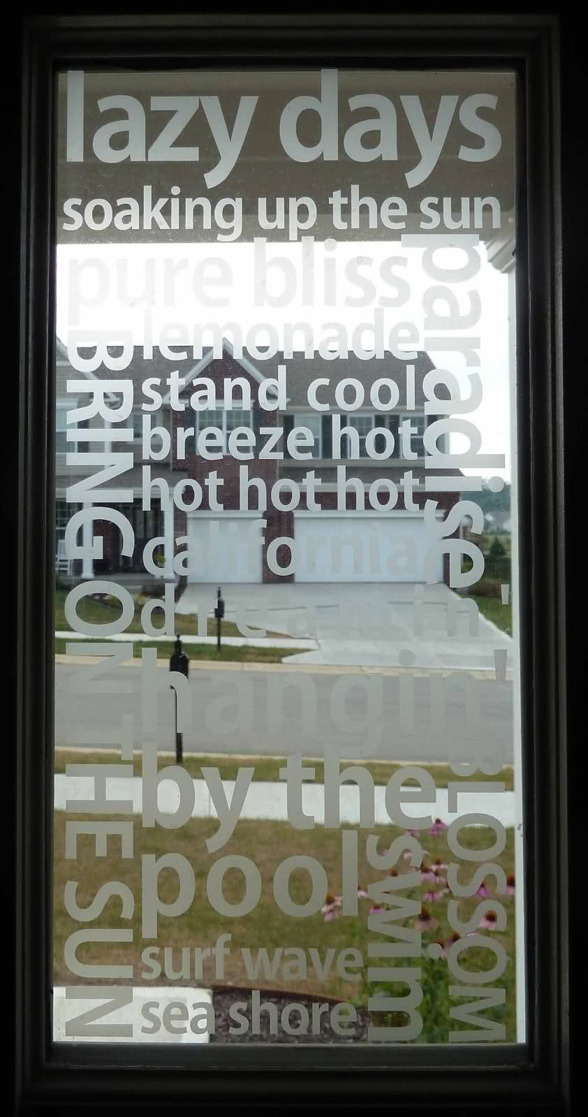407613ad639 Vinyl that looks like etched glass.~ Get your etched glass vinyl supplies  at http