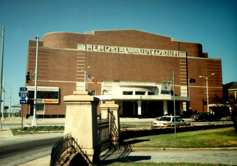 Greenville memorial auditorium greenville sc i saw