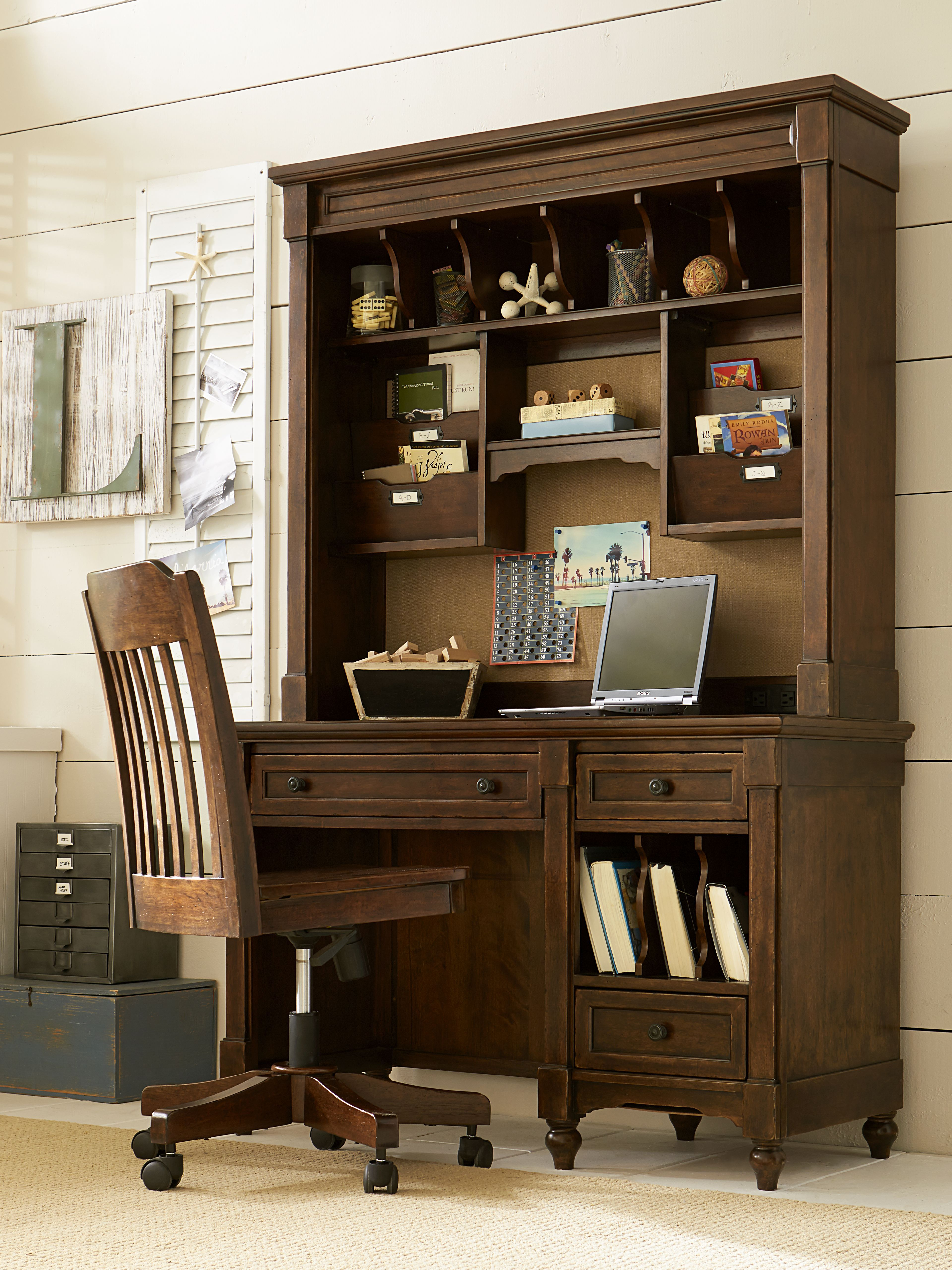 big sur by wendy bellissimo desk with hutch and swivel chair rh pinterest com