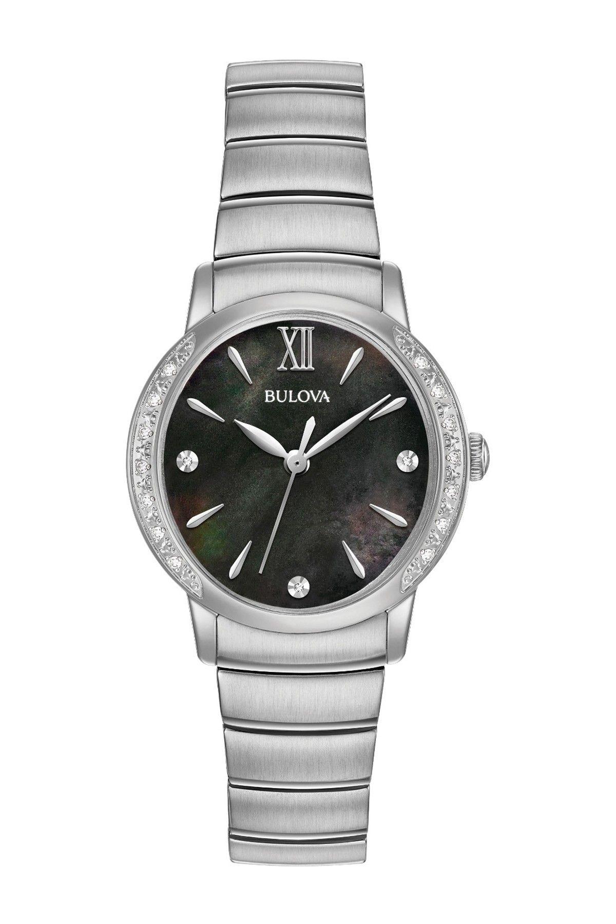Bulova Women's Diamonds Collection Bracelet Watch 0.07