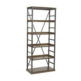 Hammary Furniture 166 588 Studio Home Bookcase With Adjule