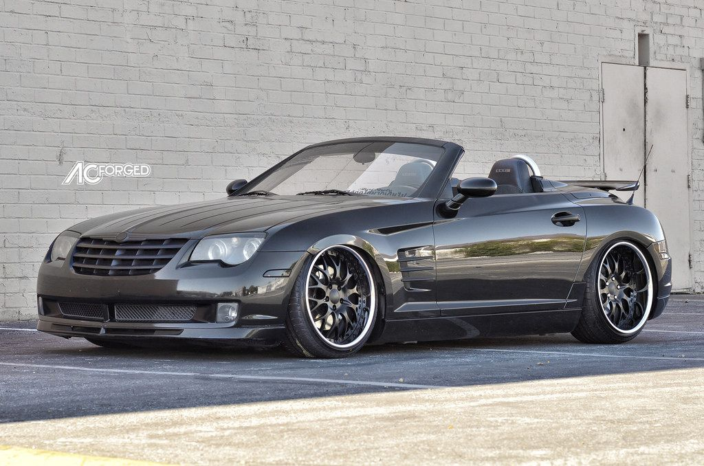Photo 3 Chrysler Crossfire Custom Wheels Ac 313 19x9 0 Et Tire