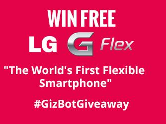 Hello everyone,just click on this link, play a simple contest (OFFICIAL) and get a chance to win a LG G FLEX smartphone worth Rs. 65,999 http://is.gd/KlZCvr