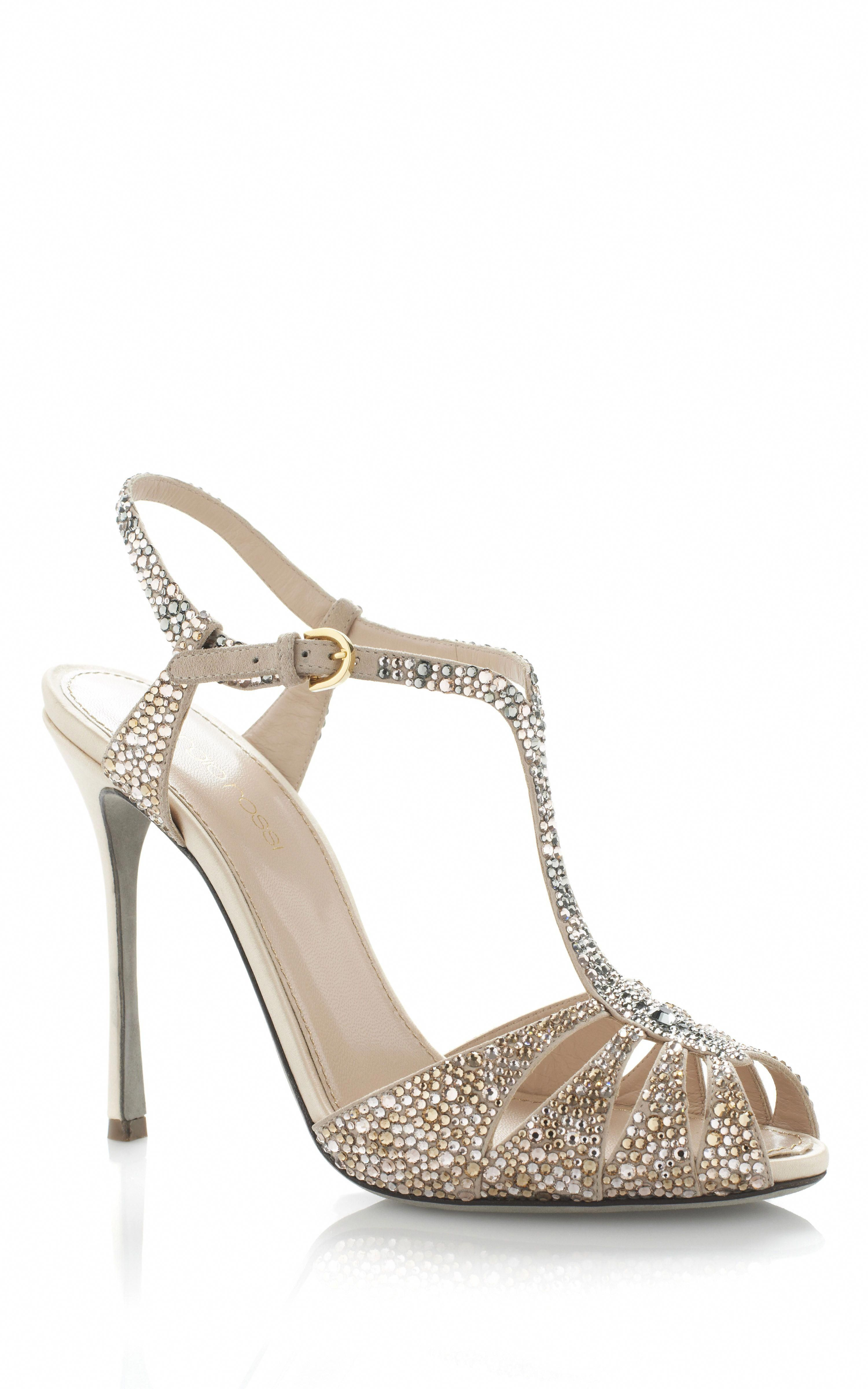 Www Sergiorossi Sergio Rossi Murmask Evening Sandal Bride Bridal Wedding Shoes Luxury Haute Couture