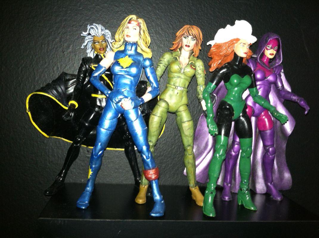 Custom Marvel Legends Outback X-men figures | Action ...