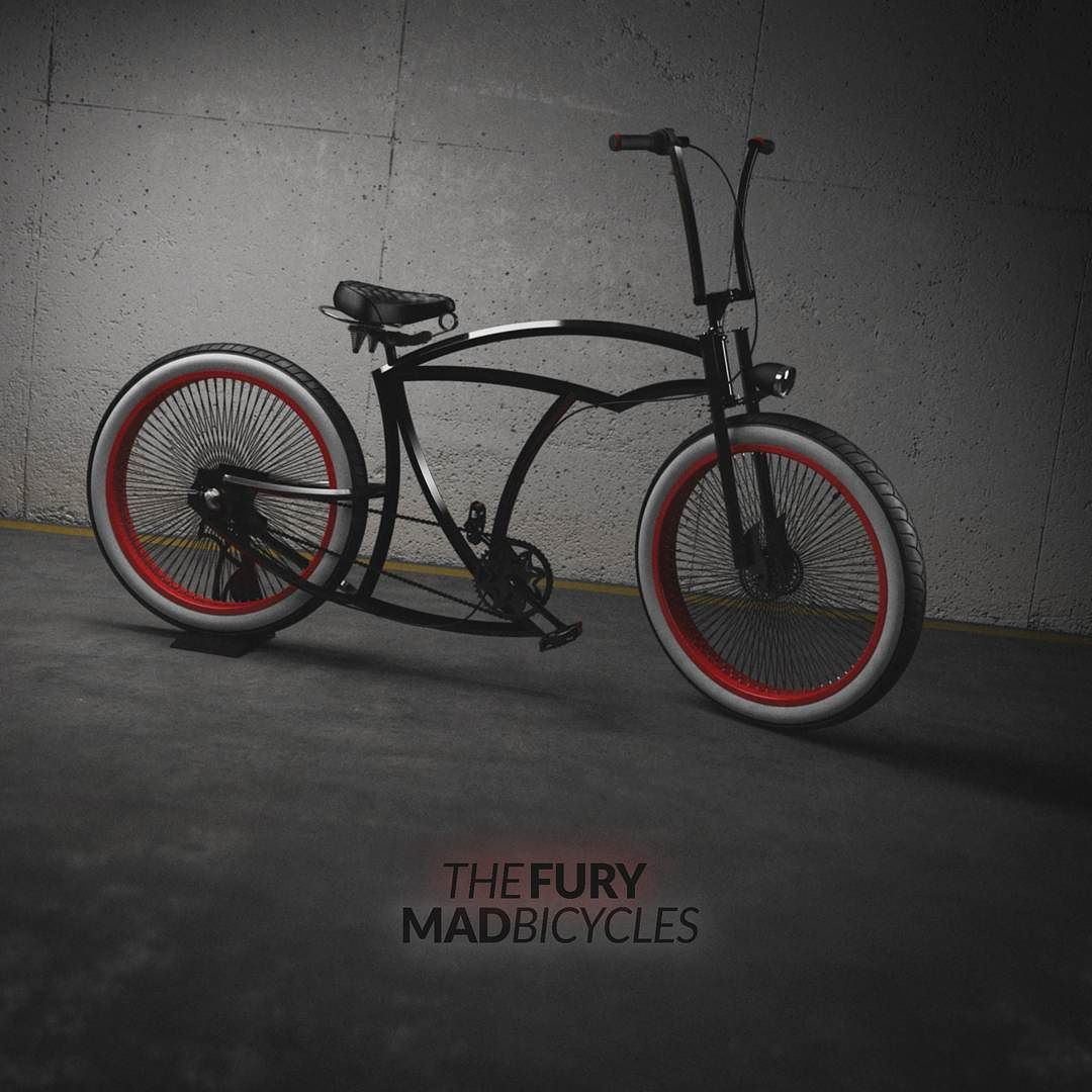 Is it Hot Rod monday? custom bicycle hotrod badass pinup