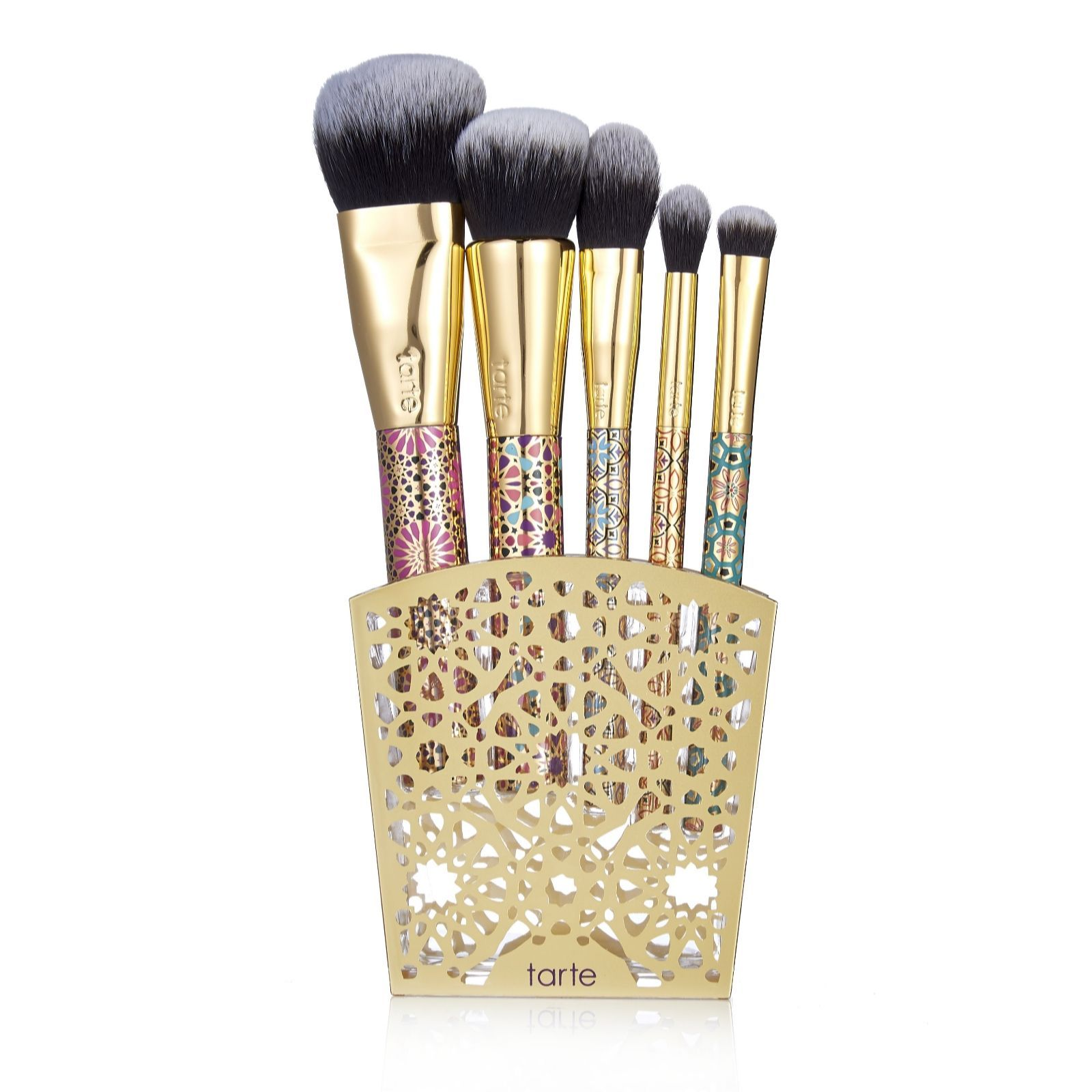 Tarte 5 Piece Limited Edition Brush Collection QVC UK