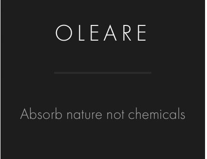Words to Live By: Absorb Nature, Not Chemicals  #oleare #skincare #skin #hair #natural #beauty #nature #hippie #paleo #muscle #vegan #products #coconut #oil #clean #eating #skinfood #real #food #bbloggers   www.oleare.com