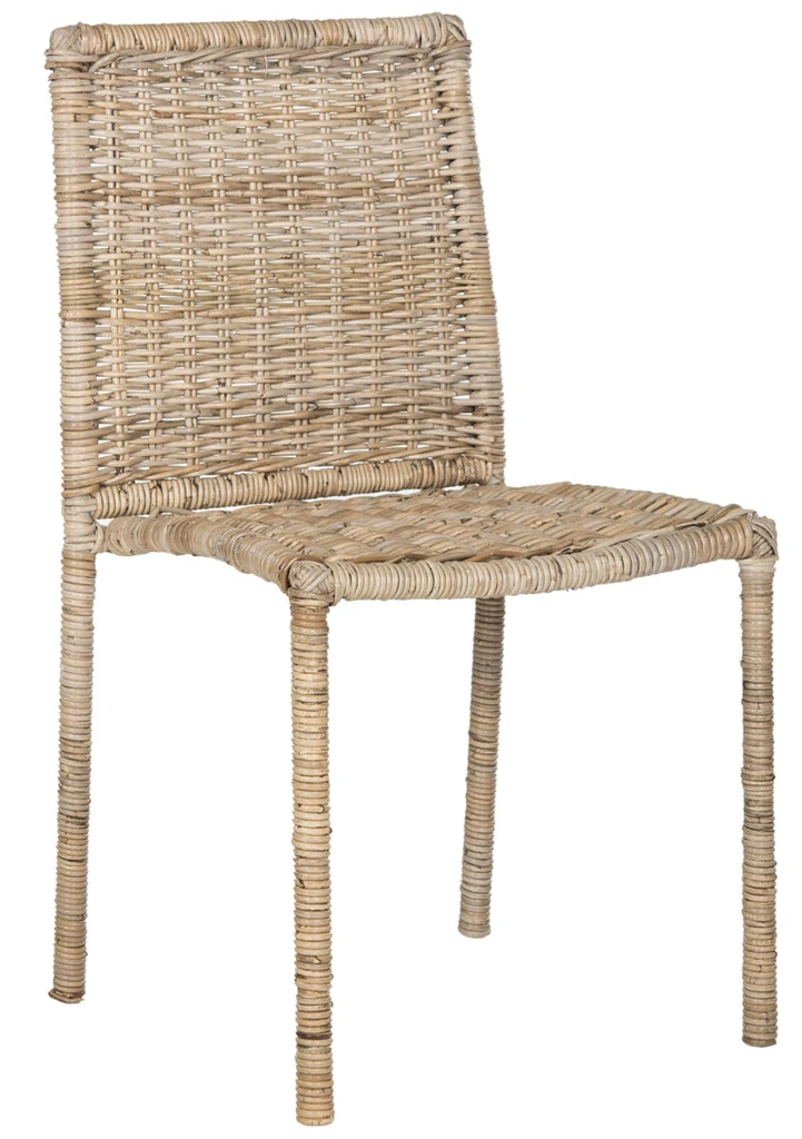 45+ Rattan dining chair set of 2 Top
