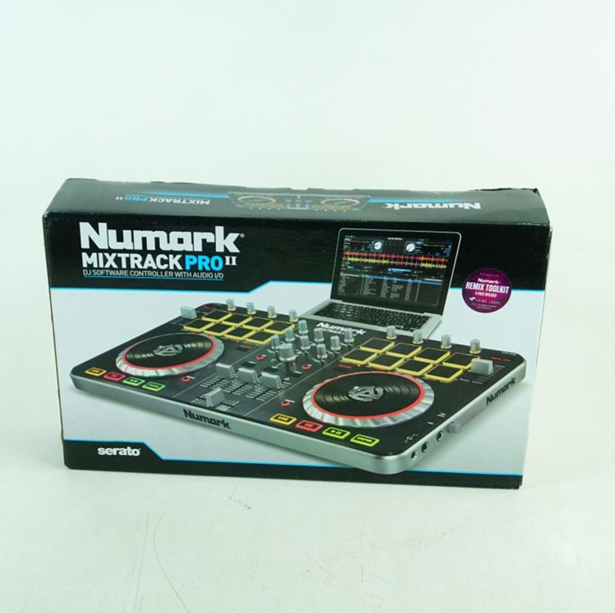 Numark Mixtrack Pro Ii Dj Software Controller With Audio I O With Images Audio Software Pro