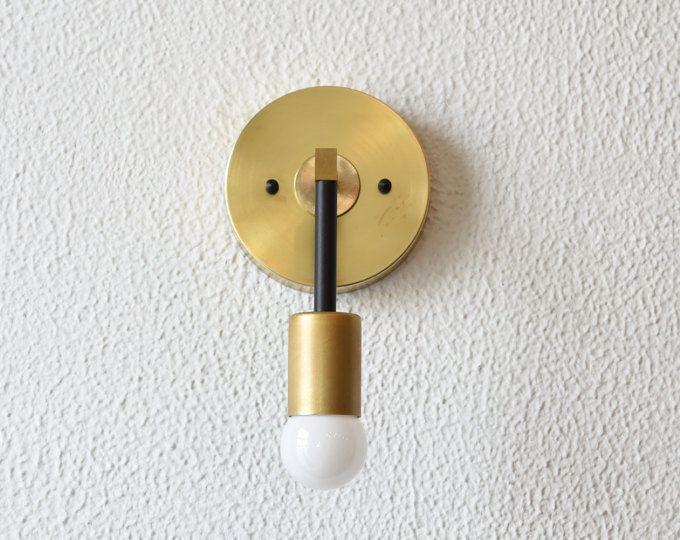 Kostenloser Versand! Wand Wandleuchter Eitelkeit Goldmessing 2 - badezimmer lampen wand