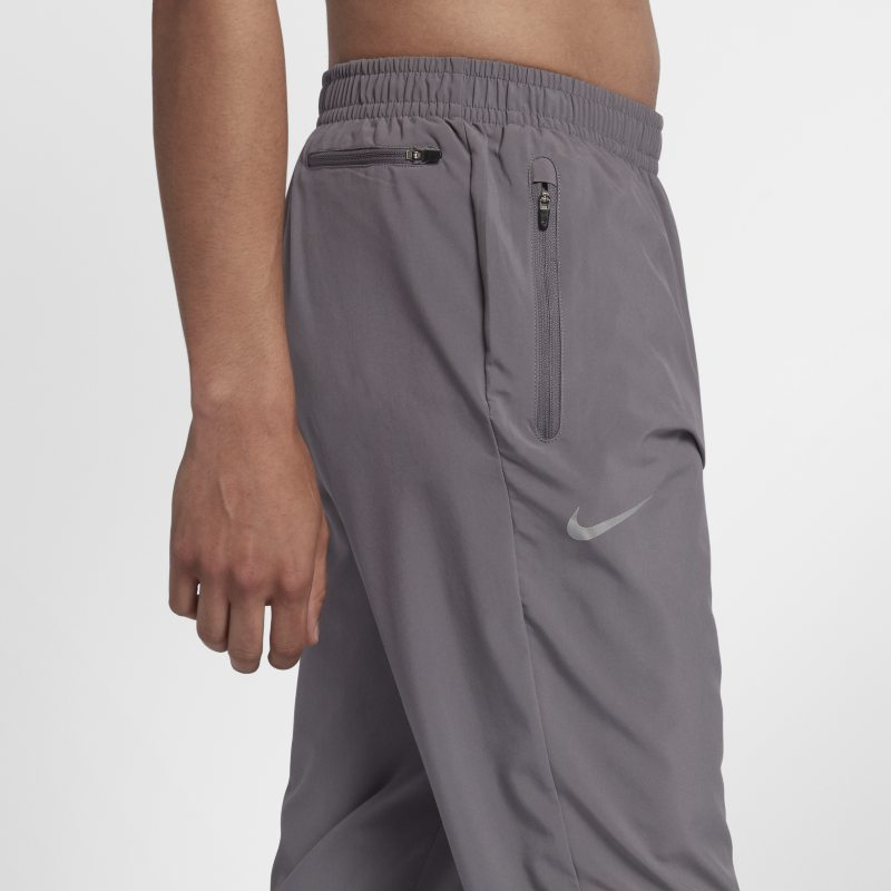 b34a48fd1e31c Nike Essential Men's Woven Running Trousers - Grey | Products | Mens ...