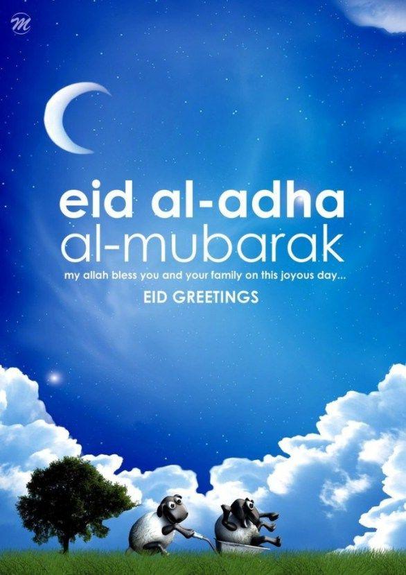 Happy eid al adha wishes eid pinterest happy eid eid and happy eid al adha wishes m4hsunfo