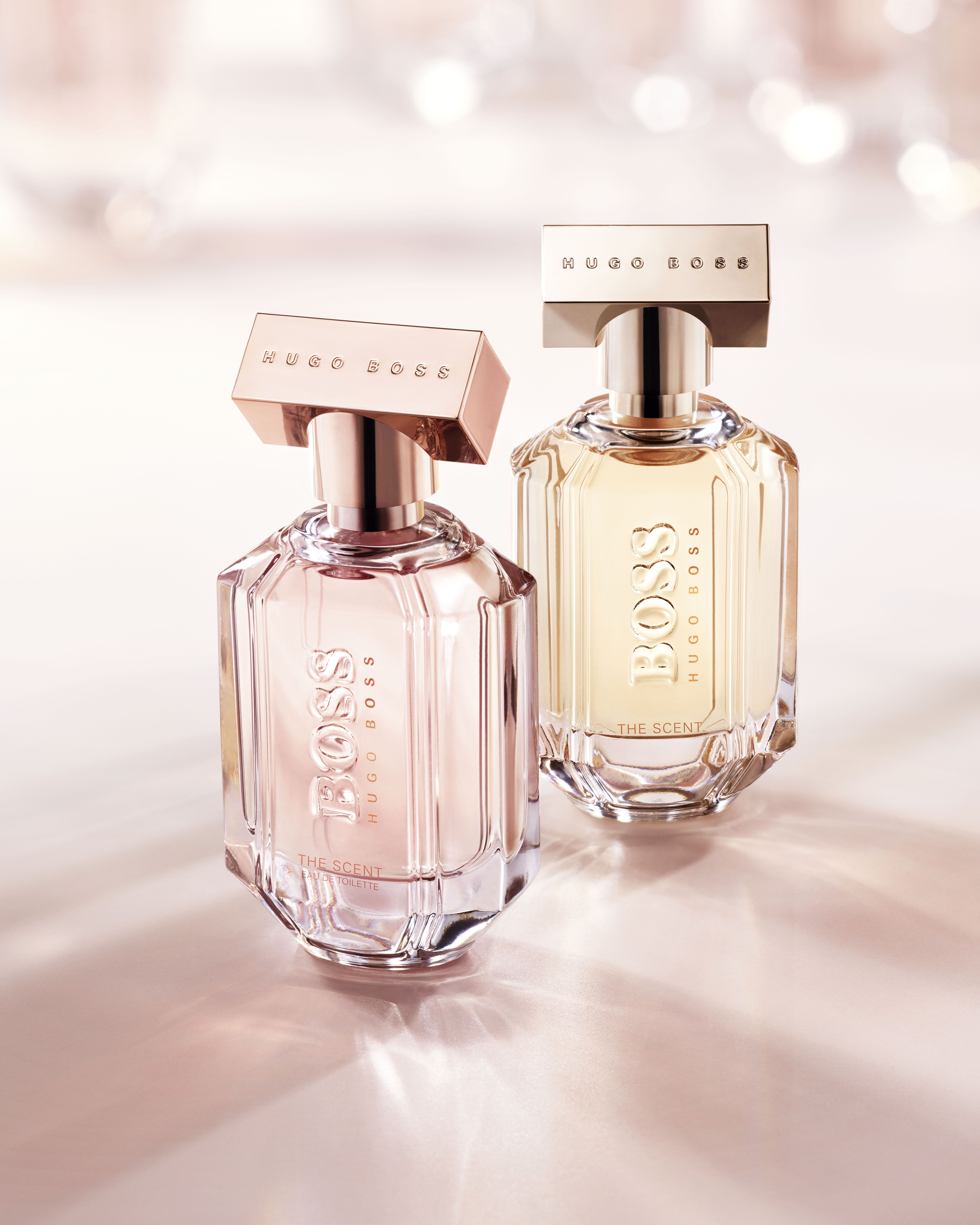 ae5e893d36eab Soft yet powerful: introducing the lighter version of BOSS The Scent for her:  an eau de toilette, featuring new ingredients inspired by springtime # ...