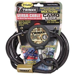 Trimax Versa Cable Braided Steel Cable Lock System Cable Steel Water Crafts