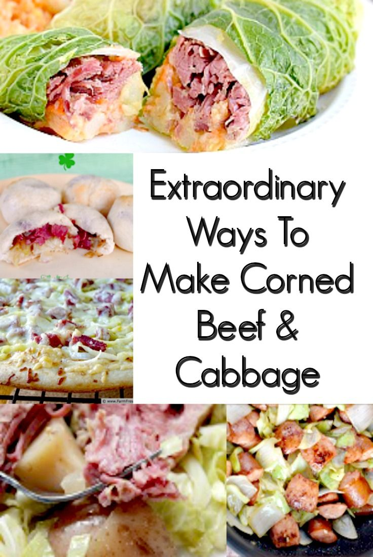 Change up the old Corned Beef and Cabbage recipe with