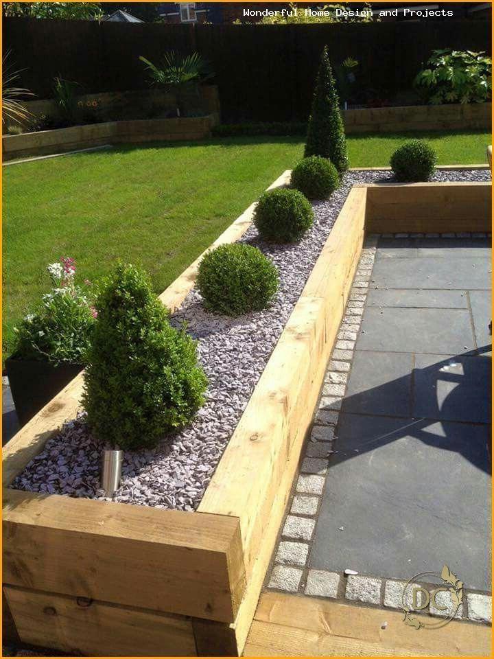 #kleinesgarten Garden design ideas low maintenance uk # ...