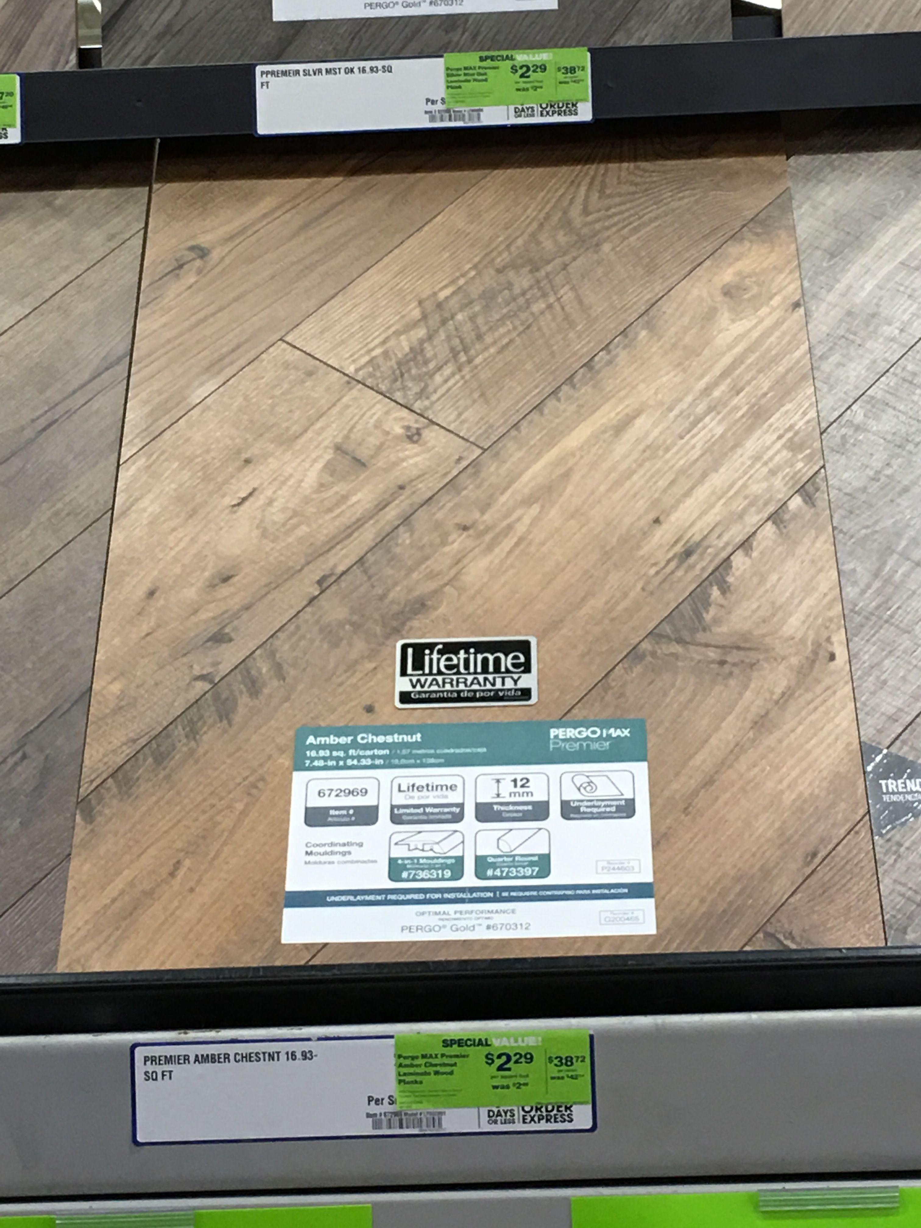 Lowe S Pergo Amber Chestnut Farmhouse, Pergo Amber Chestnut Laminate Flooring