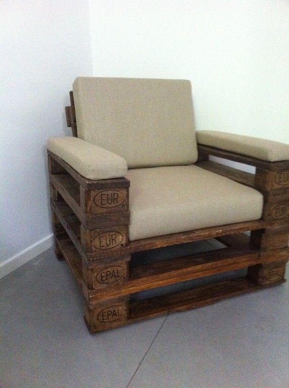 Möbel - Chair Paletten Furniture Pinterest - garten lounge mobel holz