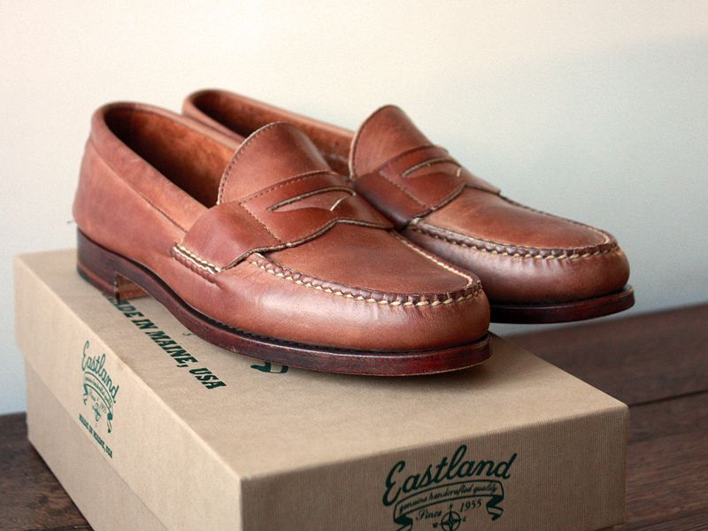 7d9766fdca8 Rancourt and Company - Beefroll Penny Loafers - Color 8 Shell Cordovan  Description Beefroll Penny Loafers
